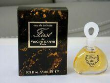 "VAN CLEEF & ARPELS Miniature de Parfum "" First ""  5,5ml -  État Exceptionnel"