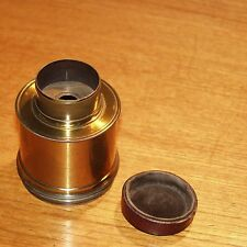DAGUERREOTYPE 1850s LENS early brass vintage f12 for CAMERA