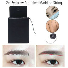Pre-Inked Brow Mapping Strings Pigment String Microblading Eyebrow Dyeing LiCAnd
