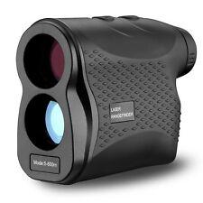 600M Golf Laser Range Finder 6X Rangefinder LCD Yardage Device Black UK