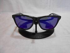 OAKLEY Frogskin Aquatique 1st Gen Sunglasses Grey Frames & Purple Lenses
