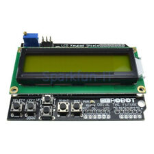 1602 LCD Keypad Shield Board with Yellow Backlight For Arduino Duemilanove Robot