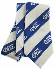Phi Beta Sigma Royal Blue and White Self Tie Neck-Tie