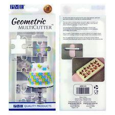 PME géométrique Multicutter de gâteau Glaçage coupeur grand Puzzle - 1.25 pouce