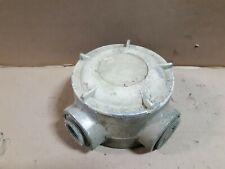Killark Gejxt 6 4 Way Explosion Proof Aluminum Outlet Body 2 Npt S7n
