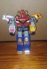 "Power Rangers 1998 Lost Galaxy 9"" Gingaman Megazord Original 90s Bandi"