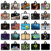 """Many Design Sleeve Case Bag + Handle For 7"""" 7.7"""" 7.9"""" 8"""" 8.2"""" inch Tablet Reader"""