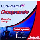 OTC OMEPRAZOLE 20 mg 120 Capsules (ULTRA Brand) Acid Reducer Exp Oct/2022 SEALED