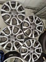 1 x Ford Ranger Wildtrak 18inch wheel rim mag black and Grey