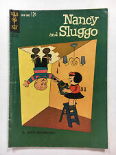 Nancy and Sluggo #1 VG Gold Key comic 1962