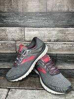 Brooks Womens Adrenaline GTS 18 1202681B079 Gray Black  Running Shoes Size 10 B