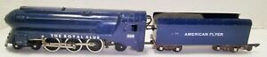 American Flyer 350 The Royal Blue Steam Engine No Reserve !