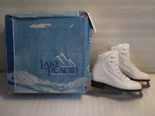 Women Ladies Ice Figure Skates Lake Placid Deluxe Model 688S Soff 300 Size 5