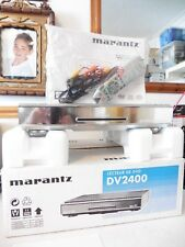 BRAND NEW BOXED Marantz DV2400 CD Player also plays DVD VCD SVCD Silver + REMOTE