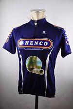 Henco Belgium Vermarc Trikot Radtrikot cycling jersey Fahrrad Gr. L 56cm NO1