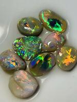 Australian Opal ROUGH L/R Rubs High Grade Bright Super clean 10.5ct WC1480 VIDEO