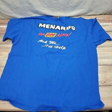 Menards Mens Adult Size 3XL Employee Uniform T Shirt