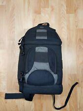 Camera Shoulder Bag Lowepro Cross Shoulder Zip-Up Pre-Owned bookbag black