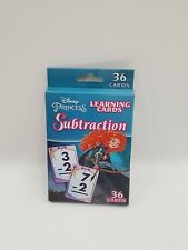 Disney Princess Merida Brave Substraction Learning Cards (36 cards)