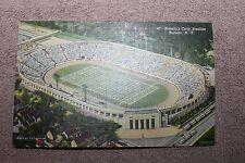 "Original 1940's Vintage Postcard of Buffalo N.Y. Civic Stadium ""The Rock Pile"""