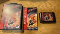 Last Action Hero Sega Genesis HTF Game Cartridge CIB W Case Artwork & Manual