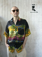 Herrenhemd Hawaihemd Hemd Palmen 80er True VINTAGE 80s men Hawai shirt Palmtrees