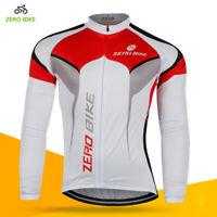 Men's Cycling Jerseys Ciclismo Bike Bicycle Long Sleeve Top Shirt Clothing M-XXL