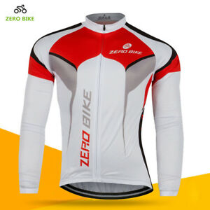 Men's Cycling Jerseys Ciclismo Bike Bicycle Long Sleeve Top Shirt Clothing M-XXL
