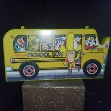 Vintage 1978 Kellogg's School Bus Pencil Case Box