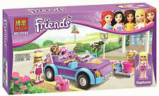 New Girl friends Stephanie's roadster Building Bricks Blocks Sets Education Toys