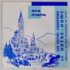 Les Petits Chanteurs de Notre Dame 45 tours Ave Maria AGORILA