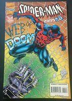 SPIDER-MAN 2099. NO. 34. AUG. 1995. WEB OF DOOM. PETER DAVID-SCRIPT. MARVEL.