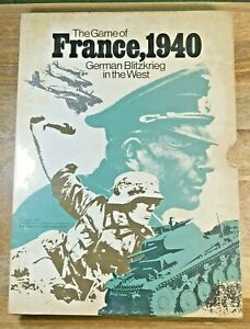France 1940 German Blitzkrieg In The West Avalon Hill 1972 (G5012)