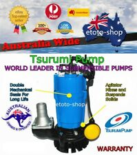 TSURUMI HSZ2.75S Vortex Submersible Building Drainage Sump Pump Auto RRP $1100