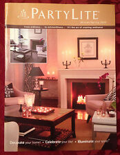 PartyLite 2008 Winter / Spring Everyday Catalog Retired Book Consultant HTF