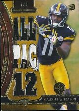 MARKUS WHEATON 2013 TOPPS TRIPLE THREADS RELICS GOLD PATCH RC 7/9 *STEELERS*