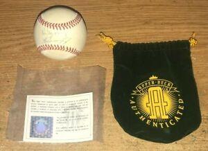 Ken Griffey Jr. & Ken Griffey Sr. Autographed Baseball. Upper Deck COA HOF