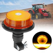 Roof LED Emergency Flashing Amber Beacon Strobe Tractor Warning Amber Light NEW