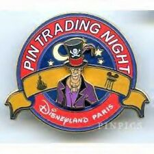 Disney Pin Trading Night Dlrp Paris Dr . Dr. Facilier Le 400 Rare Dlp On Card