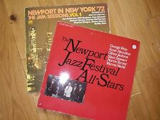 Newport Jazz Festival - 2 Jazz Albums - one is a double - 70s/80s recordings