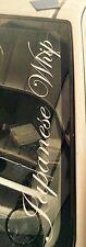 """JAPANESE WHIP""WINDSCREEN STICKER CIVIC,JDM EURO NISSAN HONDA 550x100mm"