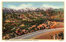 Route 66 Postcard, Cajon Pass Postcard, Route 66 California Postcard, AA