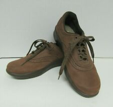 SAS Women's Walk Easy Brown Suede Leather Shoes Size 6 S   GUC!!