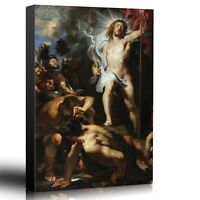"Wall26 - Oil Painting of ""The Resurrection of Christ "" - Canvas Art - 16x24"