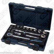 "KS Tools 1/2"" CHROMEplus Set di chiavi a bussola, 22 pezzi deposito 1/3 area di taglio"