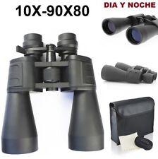 RONGDA 10x-90x80 Prismáticos - Negros