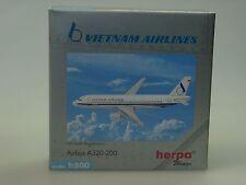 Herpa Wings Airbus a320-200 Vietnam Airlines, con Regi - 501729 - 1/500