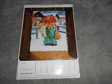 VINTAGE 1979 GOEBEL COLLECTORS' CLUB  CALENDAR - MADE IN GERMANY