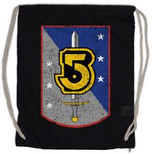 VINTAGE ARMY OF LIGHT LOGO Drawstring Bag Space Center TV Series Babylon 5