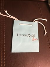 Tiffany & Co. Love Small Blue Paper Bag